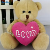 Plush Toy Bear Stuffed Toy Bear Soft Toy Bear with Red Heart