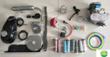 Super Pk80 Bicycle Engine Kit/80cc Gasoline Bicycle Motor Kit/40mm Stroke Bicycle Engine Kit