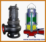 Non-Clog Waste Water Centrifugal Sewage Submersible Pump (WQ)