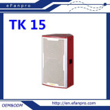 Fashionable Patterns Single 15 Inch (TK-15) Professional Karaoke Speaker Loudspeaker