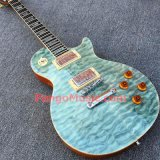 Pango Lp Standard Electric Guitar with Quilted Maple, One Piece Body & Neck (PLP-042)
