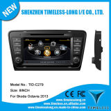 Car DVD Player for Skoda Octavia 2013 with Built-in GPS A8 Chipset RDS Bt 3G/WiFi DSP Radio 20 Dics Momery (TID-C279)