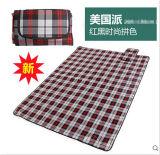 Wholesale American Pie Microfiber PEVA Pincnic Blanket
