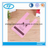 Recyclable HDPE Vest Handle Plastic Carrier Bags for Shopping