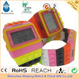 Rainbow Band Watch/ Plastic Watch/ Digital Watch (WY-R001)