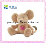 Plush Cute Mouse Soft Baby Toy