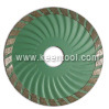 Diamond Blade with Sandwish and Normal Steel Core Fits