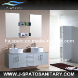 Hanging Double Basin Modern Bathroom Vanity, Bathroom Vanity (JS-C001)