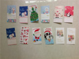 Saludo Cards/Christmas Card con Envelope/Music Cards /Birthday Cards