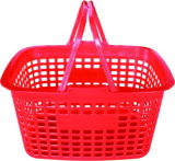 Circular Flat Double Handle Basket /Net Basket/Plastic Basket (YD-B03)
