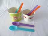 Custom Plastic Ice Cream Spoon