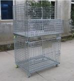 Metal Galvanized Wire Mesh Storage Cage