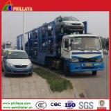 Hydraulic Lifting Truck 2 Axle 6-8 Cars Carrier Semi Trailer