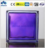Jinghua High Quality in-Colored Purple Glass Brick/Block