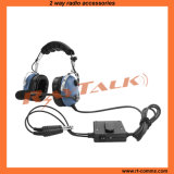 Aviation Anr Headset with Flexible Boom for General Aircraft