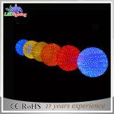 Christmas LED Decoration Lights Commercial 3D Motif Blue Balls