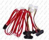 """Professional Internal 36"""" Mini Sas to 4 Sas Data Cable"""