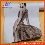 Grey Glossy PVC Self Adhesive Vinyl