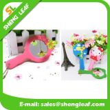 Custom 3D Logo Soft PVC Rubber Mirror (SLF-RM001)