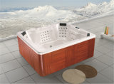 USA Acrylic Whirlpool Factory Price Outdoor Freestanding Jacuzzi (M-3346)