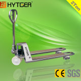 2 Ton New Condition Stainless Steel Hand Pallet Jack