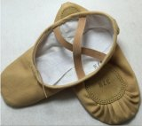 Split-Sole High Quality and Craft Camel Canvas Ballet Dance Slipper