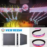 Stage Backdrop Flexible LED Curtain Display Screen
