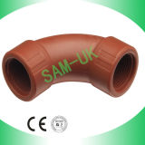 """Male and Female Bend 3/4"""" PP Pipe Fittings"""