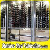 Keenhai OEM Bespoke Stainless Steel Metal Wine Rack