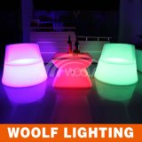Outdoor Nightclub Illuminated LED Bar Chair Furniture