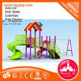 Kid Outdoor Playground Slide Equipment with Swing