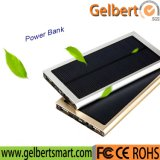 8000mAh Slim Portable Mobile Phone Battery Solar Charger Power Bank