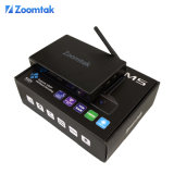 Highest Quality Ott TV Box Zoomtak M5 with Dual Band WiFi