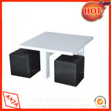 MDF Display Table with Wooden Stand