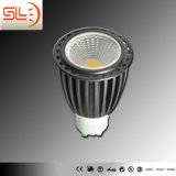 COB GU10 Alu Body LED Spotlight with CE EMC
