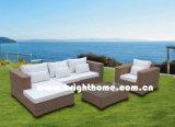 Half Round PE Rattan Sofa Set Outdoor Furniture Bp-M12