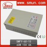 60W 15V 4A Rainproof CCTV IP67 Switching Power Supply