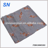 Alibaba China Fashion Lady Voile Scarf New Product