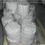Ceramic Fiber Round Insulation Glass Fiber Rope Round Braided Rope