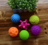 4-6PCS Textured Multi Ball Set Develop Baby′s Tactile Senses Toy Baby Touch Hand Ball Toys Baby Training Ball Massage Soft Ball