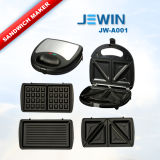 2 Slices Changeable Professional Sandwich Maker 3 in 1