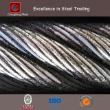 Right-Hand Lang's Lay (RHLL) Wire Rope (Close-Up)
