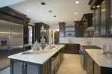 Prefabricated Artificial Quartz Stone Kitchen Countertop for USA