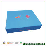 Eco-Friendly Blue Paper Chocolate Gift Box with Logo Printing