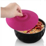 Microwave and Dishwasher Safe Reusable Silicone Suction Covers for Bowls and Pans