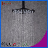 Fyeer 8 Inch Round Oil Rubbed Black Rainfall Shower Head