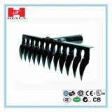 High Carbon Steel/Metal Garden Rake, Steel Leaf Rake