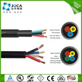 China Factory PVC/Rubber Round/Flat Submersible Pump Power Cable Price
