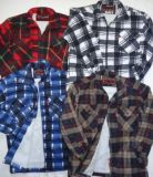 Men′s Sherpa Lined Flannel Shirt
