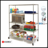 NSF Chrome Metal Grocery Shelf for Retail Store Shelves